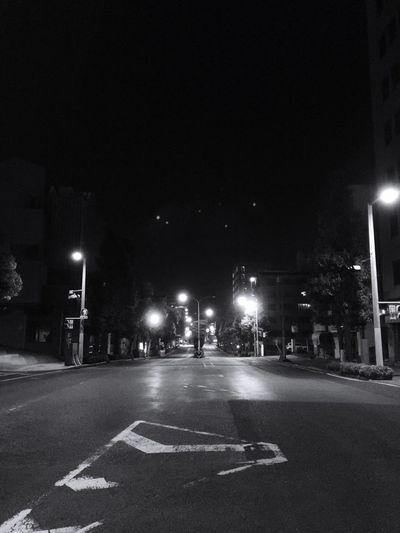 Blackandwhite Night Crawler