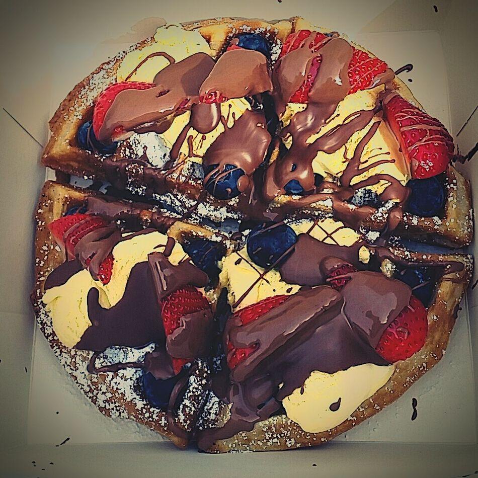 Foodporn OpenEdit Belgian Waffles Chocolate Chocolatestrawberries Delicious Delicious Food Divine Fruitporn Luxurious