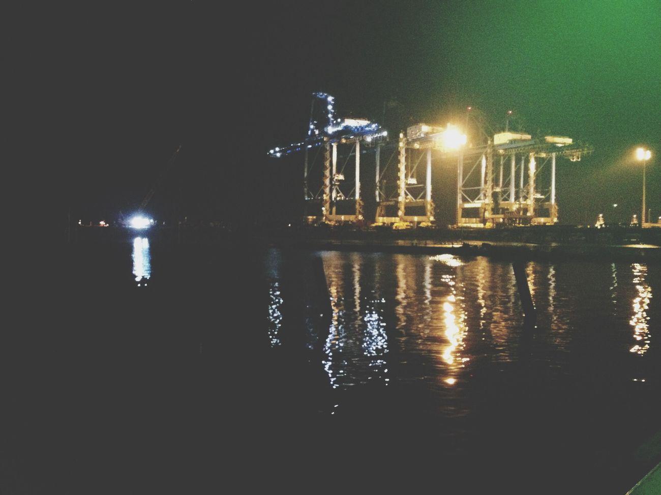 Port Klang Port Port Klang Night