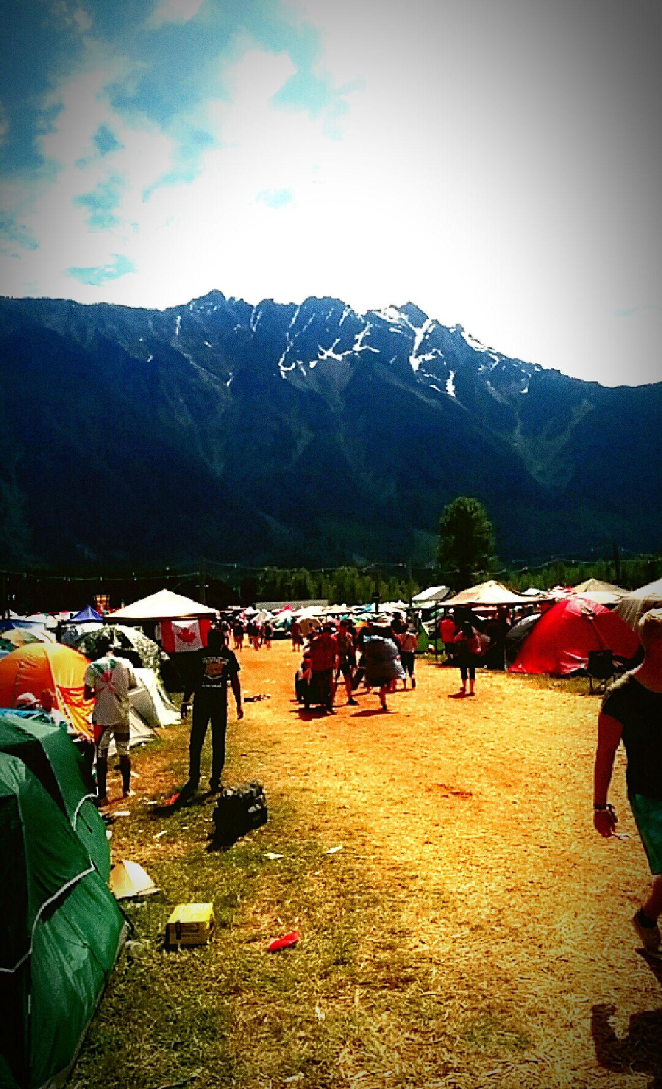 An experience of a lifetime Summer Musicfestival Pemberton LifeChanging Mountain