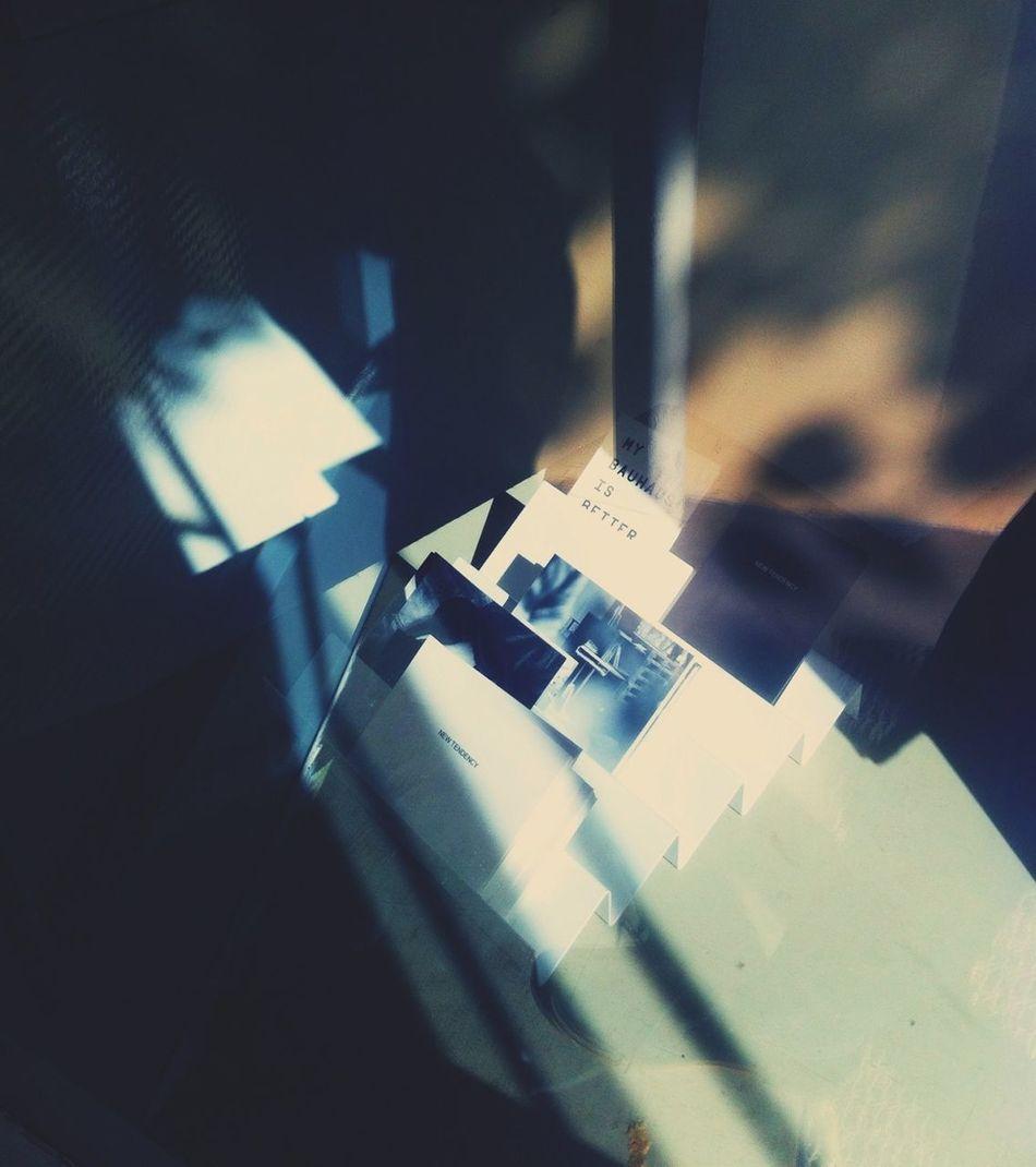 Reflection Light Through The Window