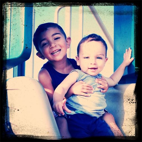 Thiago and tristen Hanging Out