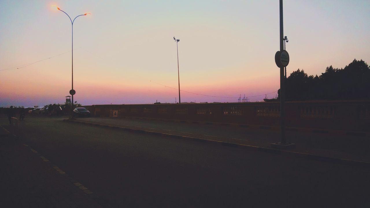 Dawn in karachi Evening Sunset Twilight Karachi
