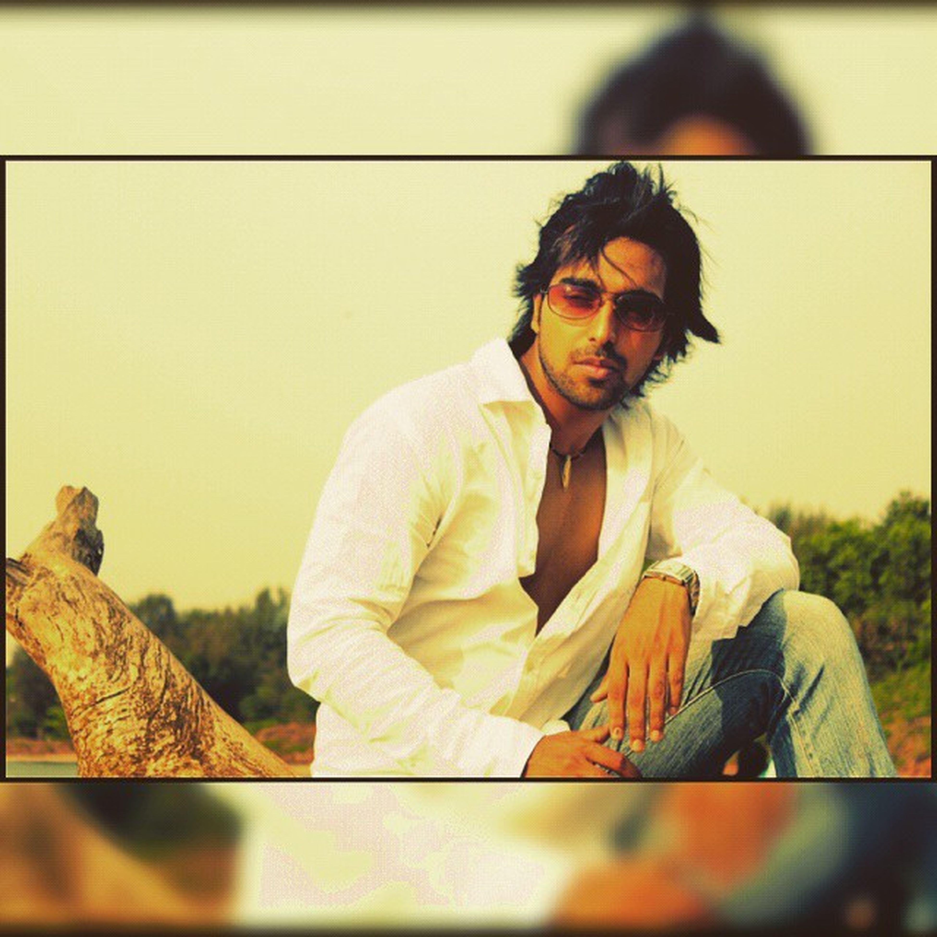 Throwback2k12 Longhair Retroshades Afro_wood_in_the_neck Instastyle Model Stylish Sexiness Cool 3rdphotooftheday Denim Fashion Style @instaghelper Modelingera Stylish Installed Bluejeans Whiteshirt  Hair Me Man swagger swagg repostahd goamyfashiondairies