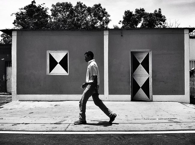 The Street Photographer - 2014 EyeEm Awards Streetphotovenezuela Black & White Streetphotography