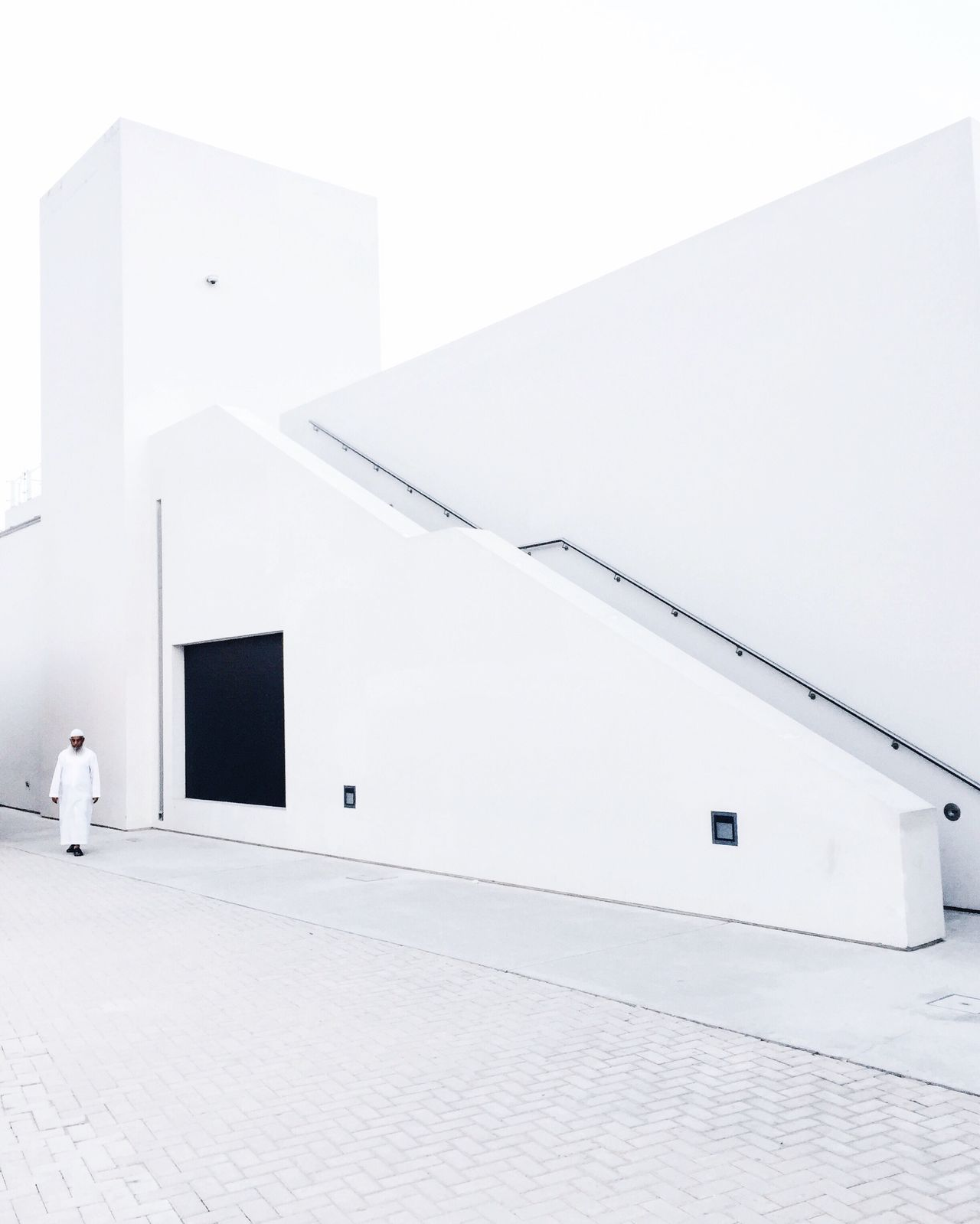 Embrace Urban Life // urban and modern architecture amidst the heritage area in Sharjah // Minimalism Architecture White White Color
