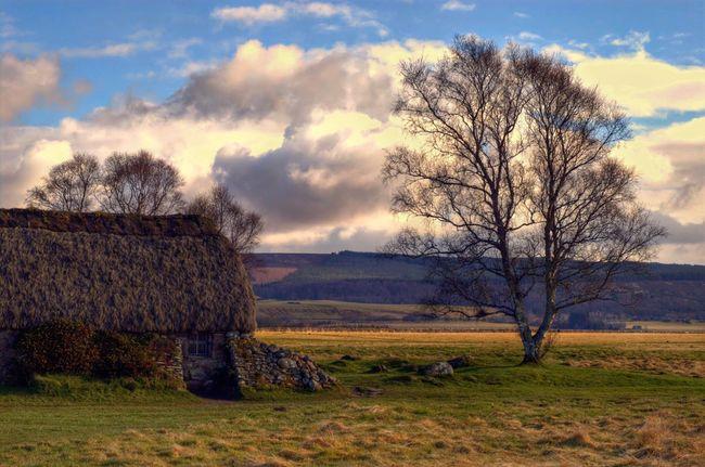 Culloden Cottage Moor  Battlefield Landscape History Scotland Historical Atmosphere Eye Em Scotland
