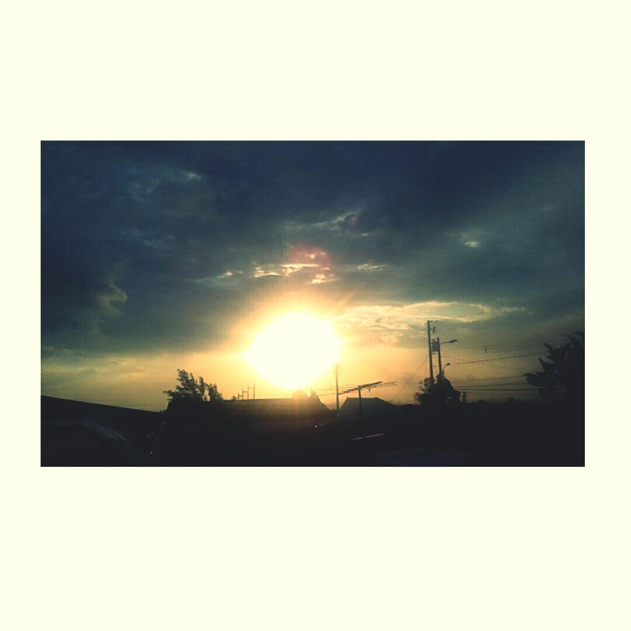 Atardecer de hoy en Coronado.⛅❤