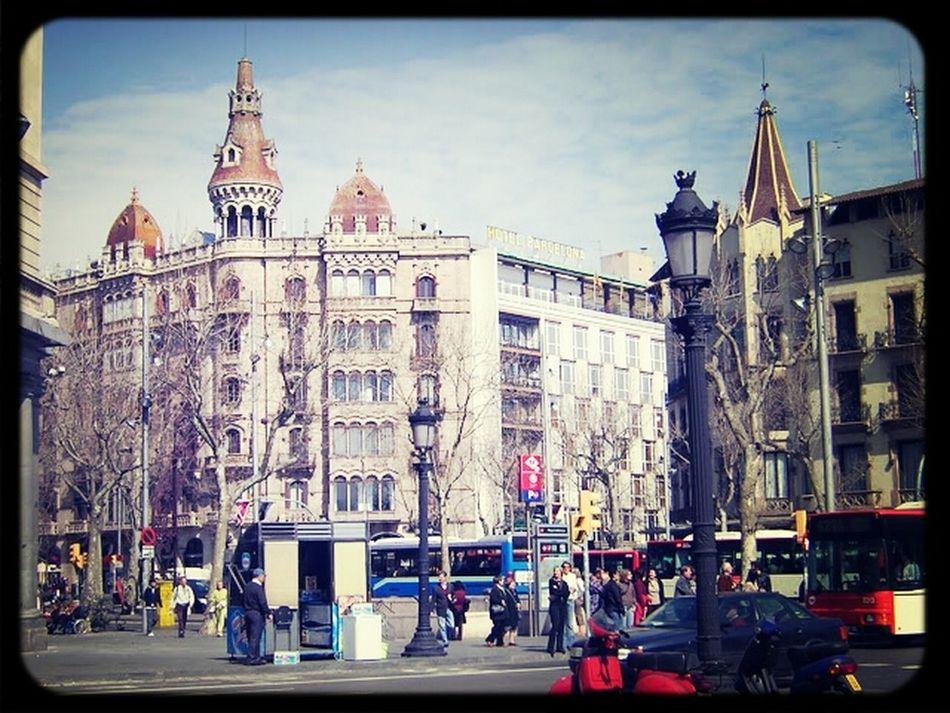 Few years ago in Barcelona...