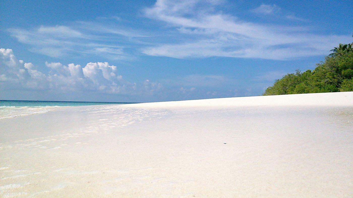 Sand Beach Holiday Relaxing Islandlife Maldives Sea Travel