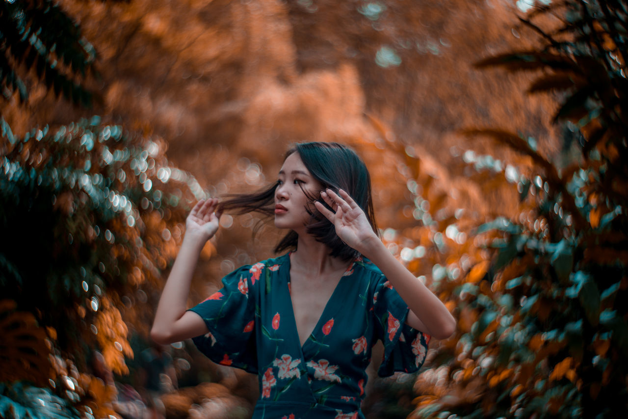 with the Petzval 85 The Portraitist - 2017 EyeEm Awards Beautiful People Women Around The World Quiet Moments Light Collection Portrait Of A Woman Portrait Photography Portrait The Great Outdoors - 2017 EyeEm Awards Outdoors Nature Beauty In Nature Petzval 85 Petzval Bokeh Bokeh Photography