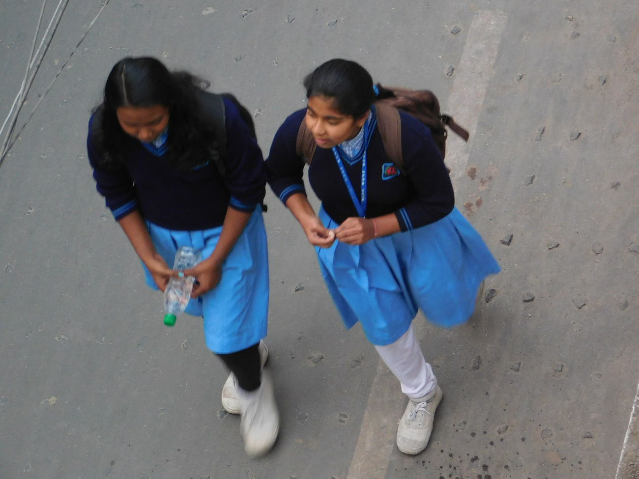 School Uniforms Around The World On The Way Home Friends India