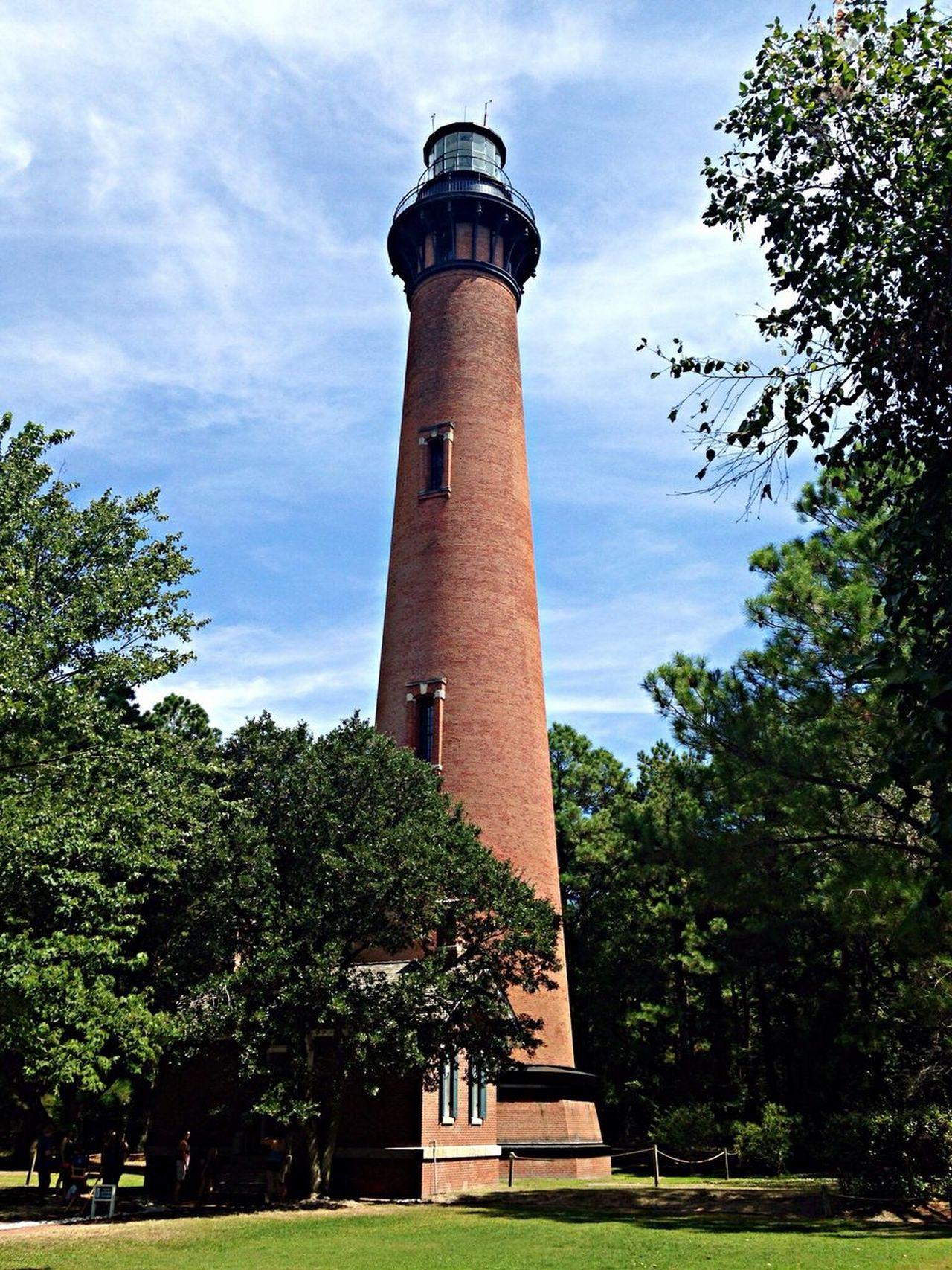 Currituck Beach Lighthouse in North Carolina. OBX14 Lighthouse