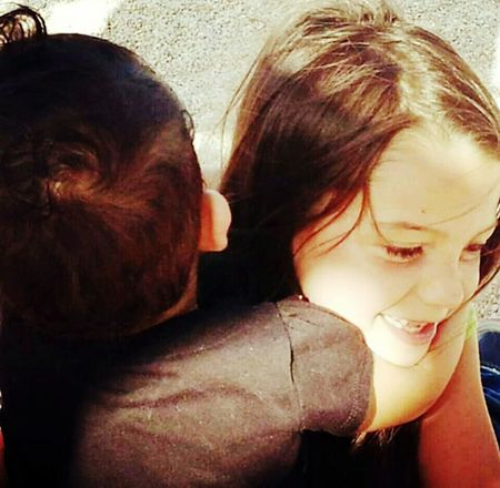 Cant nothing break a sisters bond <3 My Loves❤ Sisters ❤ Enjoying Life Happiness Sisterssticktogether Hugs People Photography Kids Of EyeEm We Are Family