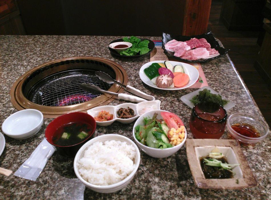 BBQ at Naha city, Okinawa Dinner Food Fun Time Traveling Japan 石垣牛 黑猪 八重山 一人食 国際通り 18/Feb. 2015, by Nubia Z5 mini