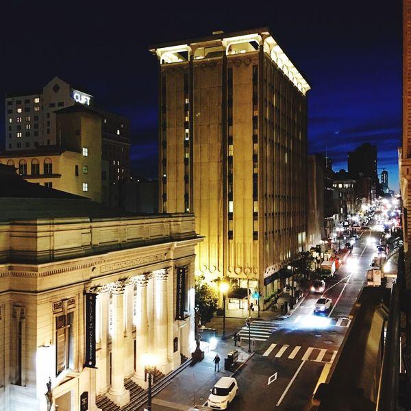 San Francisco Elks Club San Francisco Evening View Post Street, San Francisco Citynights Iphone6splus