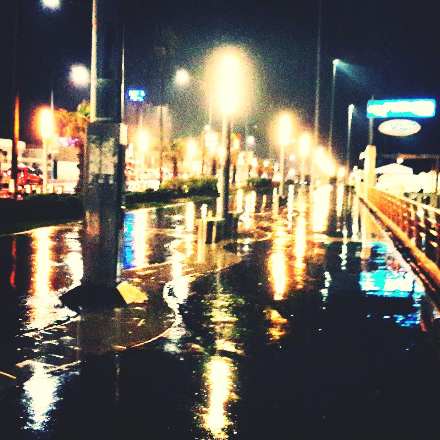 Walking Alone... in Rain