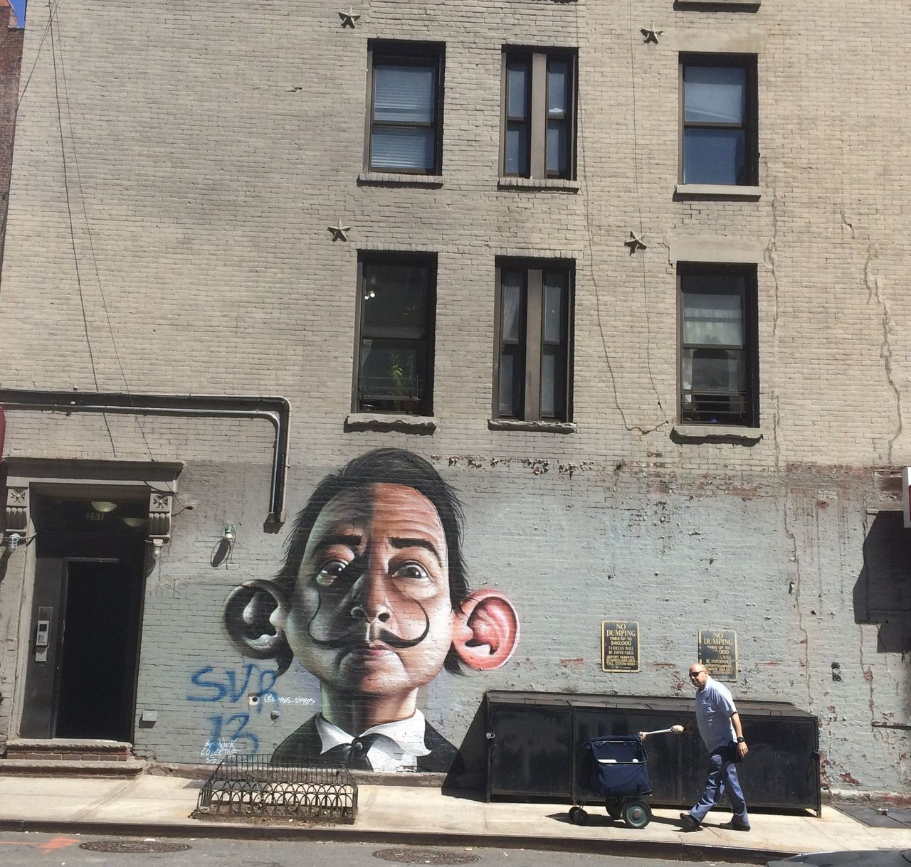 Salvador Dali Grafiti Grafiti Art Grafitti New York City New York City Photos NYC NYC Photography NYC Street Photography Salvador Dali Salvadordali Street Street Photography Streetphotography