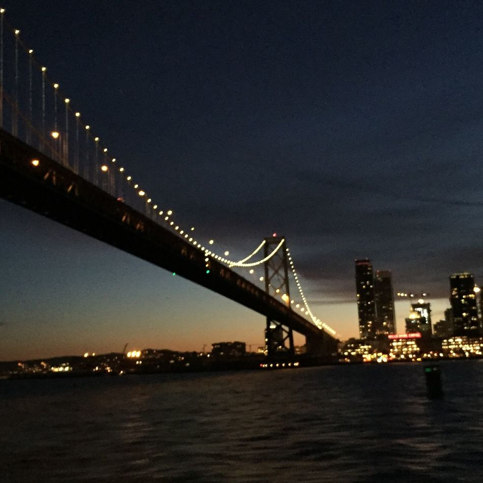 #baybridge #bridge #sanfrancisco #sunset View Nofilter Bridge View Bridge - Man Made Structure EyeEmNewHere EyeEmNewHere SanFranciscoBay San Francisco Baybridge EyeEmNewHere Welcome To Black