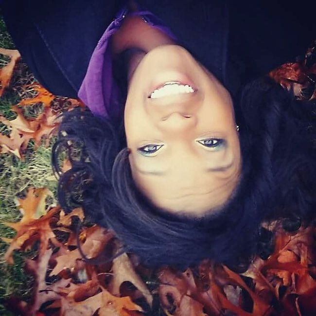 Selfphotography Girl Power Fun Leaves Fall Leaves Upside Down Myfavoritephoto I wanted to take a pic in the leaves all over the ground. So I got down on the ground and snapped some shots and when i looked back on my camera this one somehow came out upside down, which i thought was fun! Not sure how I did it, I highly doubt I could do it again. 😁😁