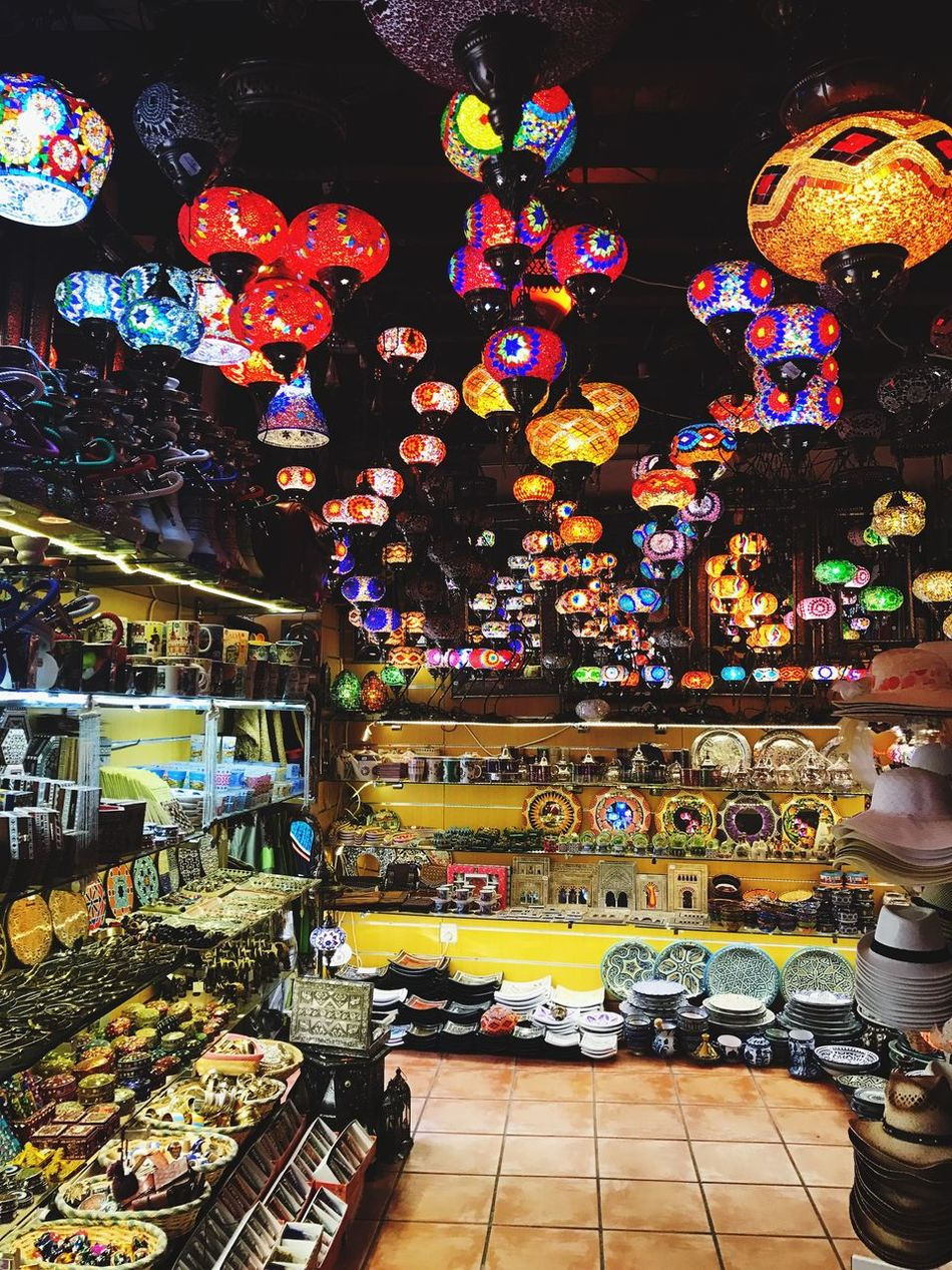 Turkish Lamps Lamps Ronda Alhambra De Granada  Alhambra SPAIN Spain♥ Spain ✈️🇪🇸 Glasswork Shops Multi Colored Illuminated Indoors  Lights Beautiful Beauty Morro Morroco ArtWork Craft Turkish Turkishwork EyeEmNewHere
