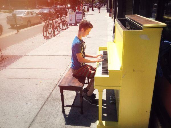 Piano Downtown! Taking Photos That's Me Enjoying Life First Eyeem Photo