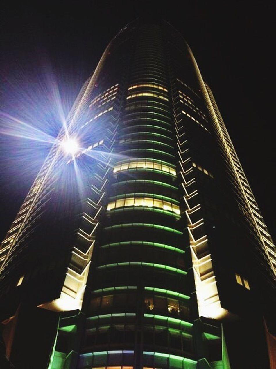 六本木ヒルズ 六本木ヒルズ(Roppongi Hills) Low Angle View Built Structure Night Architecture Sky No People Building Exterior Outdoors Illuminated Skyscraper Cultures