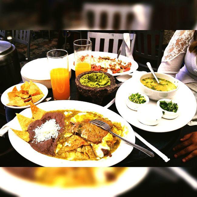Comida en Coyoacan Street Mexico DF