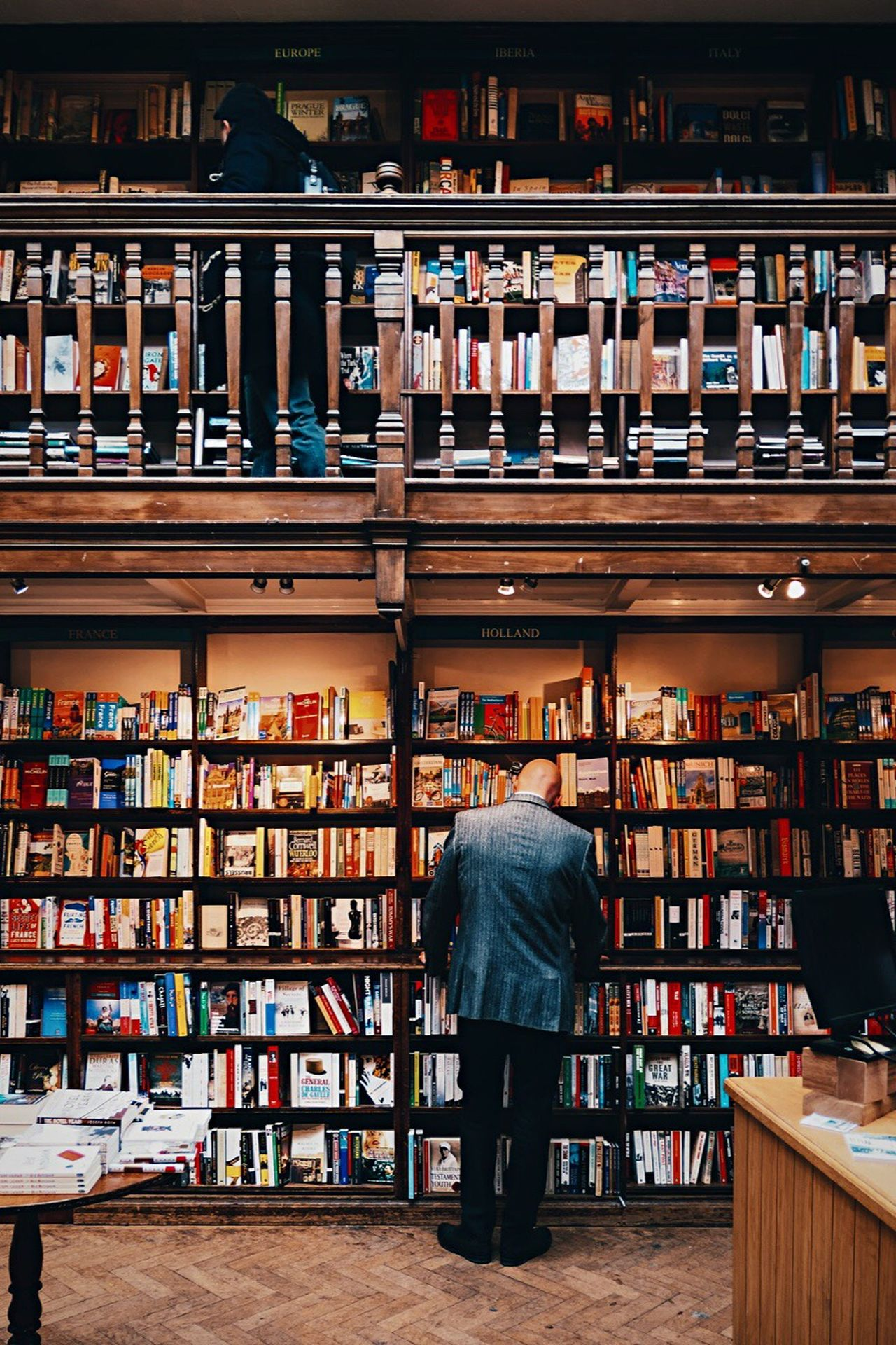 A book store in London Bookstore Books Books On Shelve Choice Book Variation Shelf Bookshelf Large Group Of Objects Library In A Row Abundance Arrangement Retail  Indoors  Day