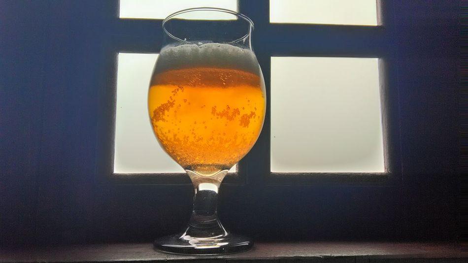 Beer time Beer Time Beer Glass Cerveja Cerveza Cervejadodia Food And Drink Indoors  Table Close-up