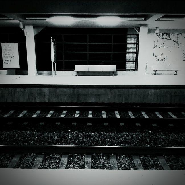 Railroad Track Railroad Station Platform Transportation Public Transportation