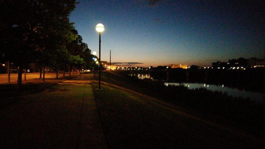 Sunset on naptown, whiteriver Dime Life Straptown N.a.p Hustling Detek Hustle Enjoying Life