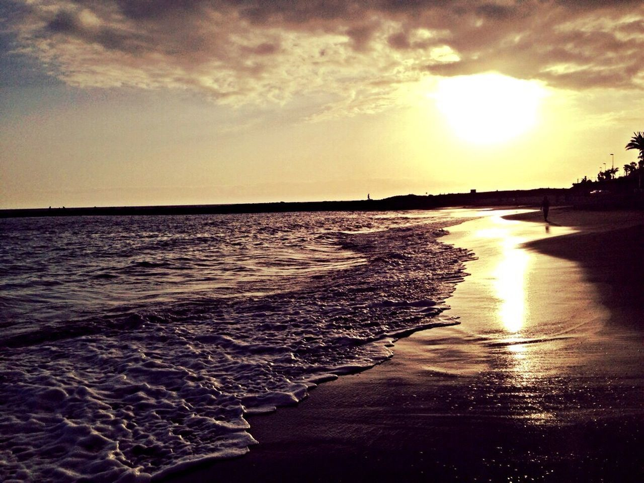 Atardecer Sea Sun Verano Tenerife Playa Beach Calor Sol Atardecer