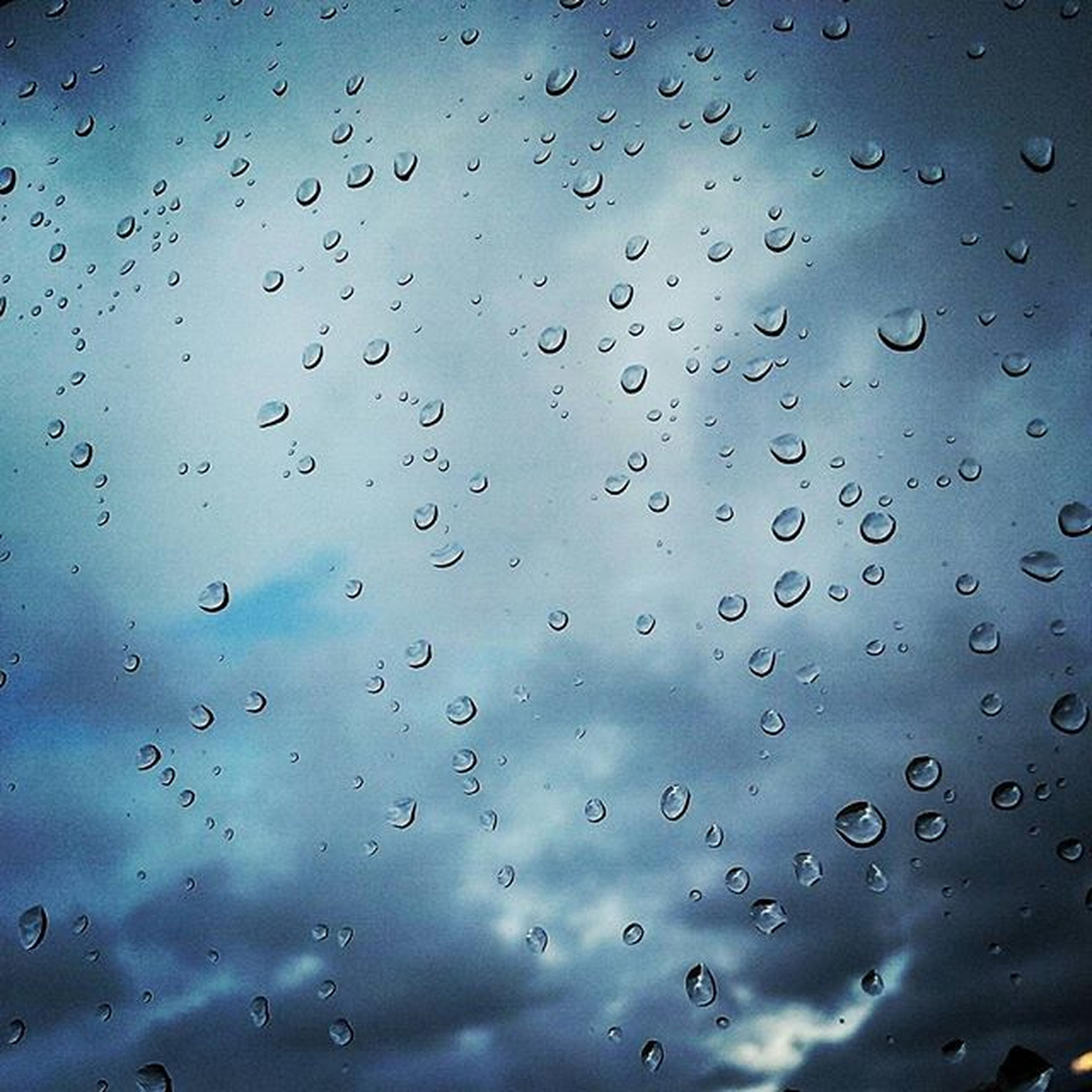 drop, wet, water, window, rain, sky, weather, raindrop, transparent, backgrounds, full frame, indoors, glass - material, focus on foreground, season, cloud - sky, close-up, glass, nature, droplet