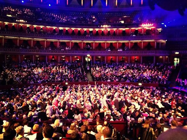 A nearly full Royal Albert Hall at the John Lewis 150 years Christmas Carol Concert. RoyalAlbertHall London Christmas Architecture Indoorshot London Lifestyle London Lifestyle Glamour Classical Classical Music Colour