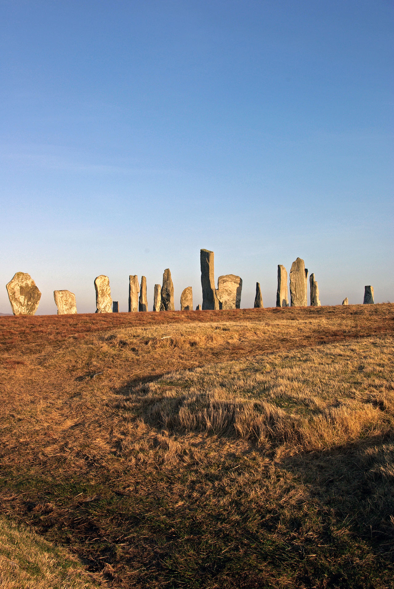 The standing stones Of Callanish Travel Destinations Ancient Civilization Old Religions Sacred Places History Outdoors Clear Sky Isle Of Lewis Outer Hebrides