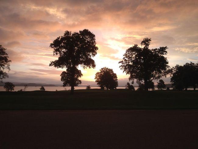 Golf in such a beautiful setting.