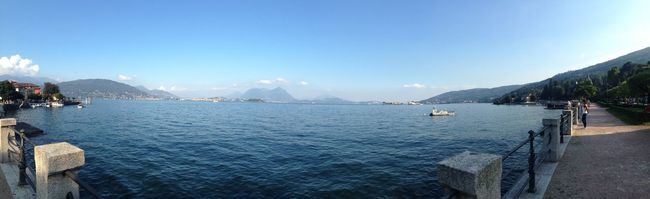 Lake Maggiore the best Nobetterlake Trytobeatit Pallanzainthebackground Baveno
