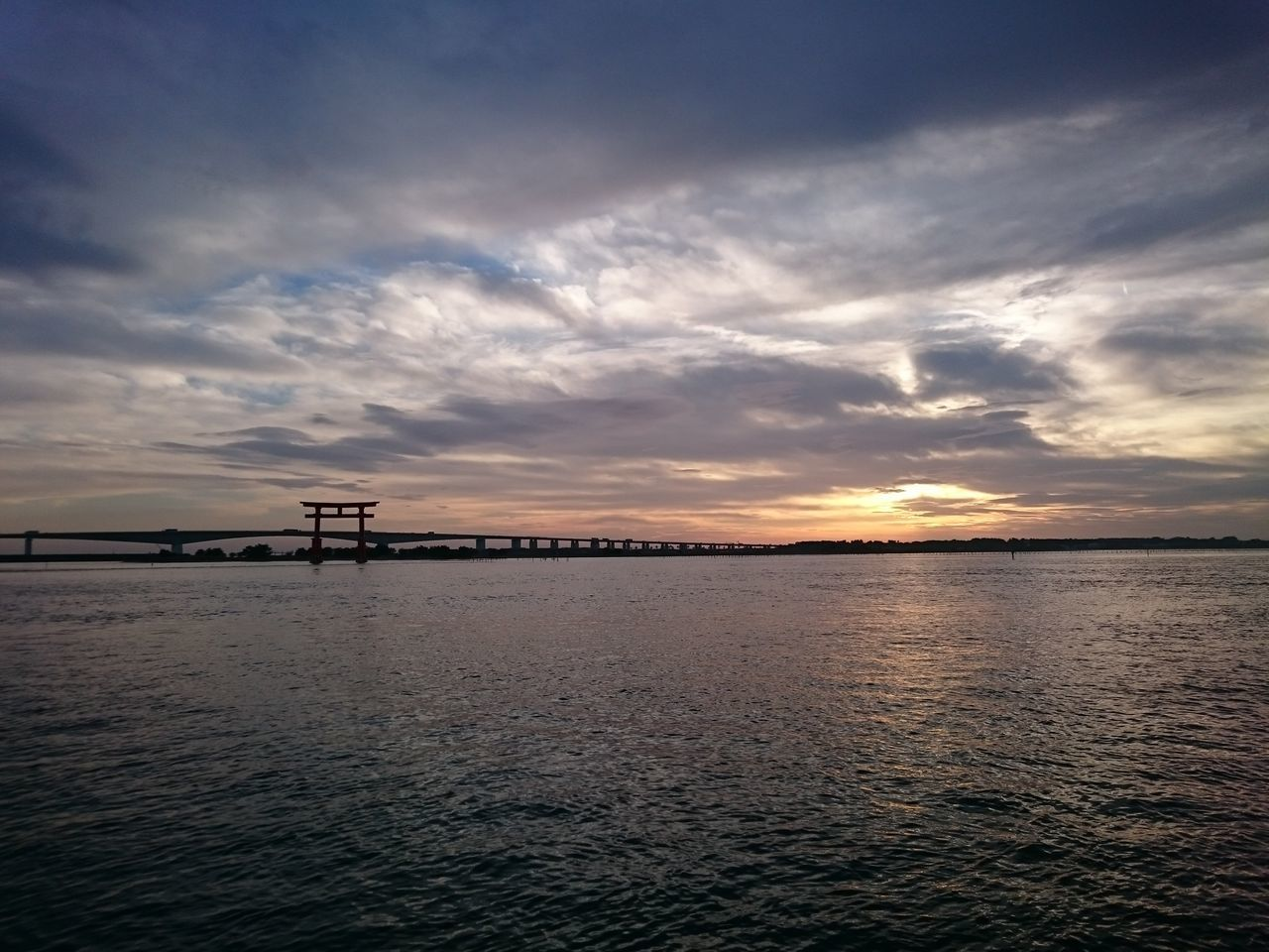 Water Tranquility Sea Sky Nature Outdoors Tranquil Scene No People Scenics Cloud - Sky Sunset Beauty In Nature Day