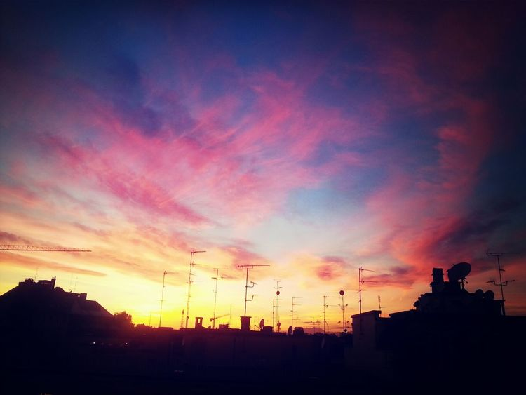 Sunset Milano Sky Sky_collection