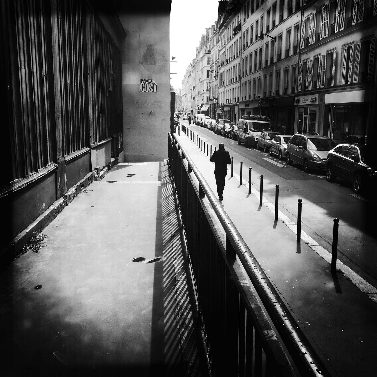 Once upon a time... Paris Blackandwhite Streetphotography Darkness And Light Walking Around Streetphoto_bw