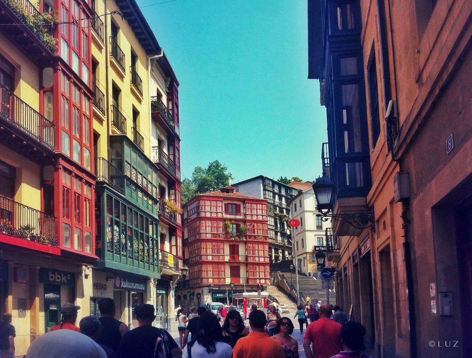 Callejear. Bilbao Streetphotography Street Colors