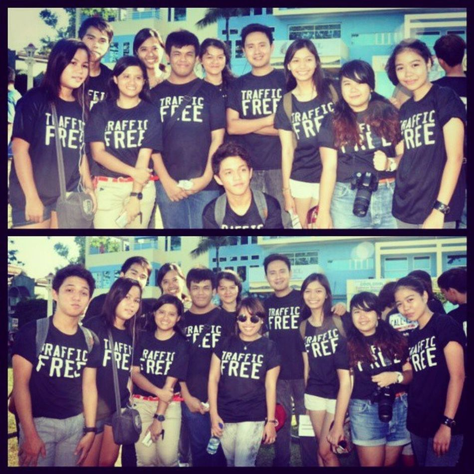 Because Together Everyone Achieves More. I had fun working with this dynamic TEAM. :) Photo by: Steffi Jan Baluran Dakila Freedomride Dumaguete HumanTraffickingFreePhils May4 RizalBoulevard
