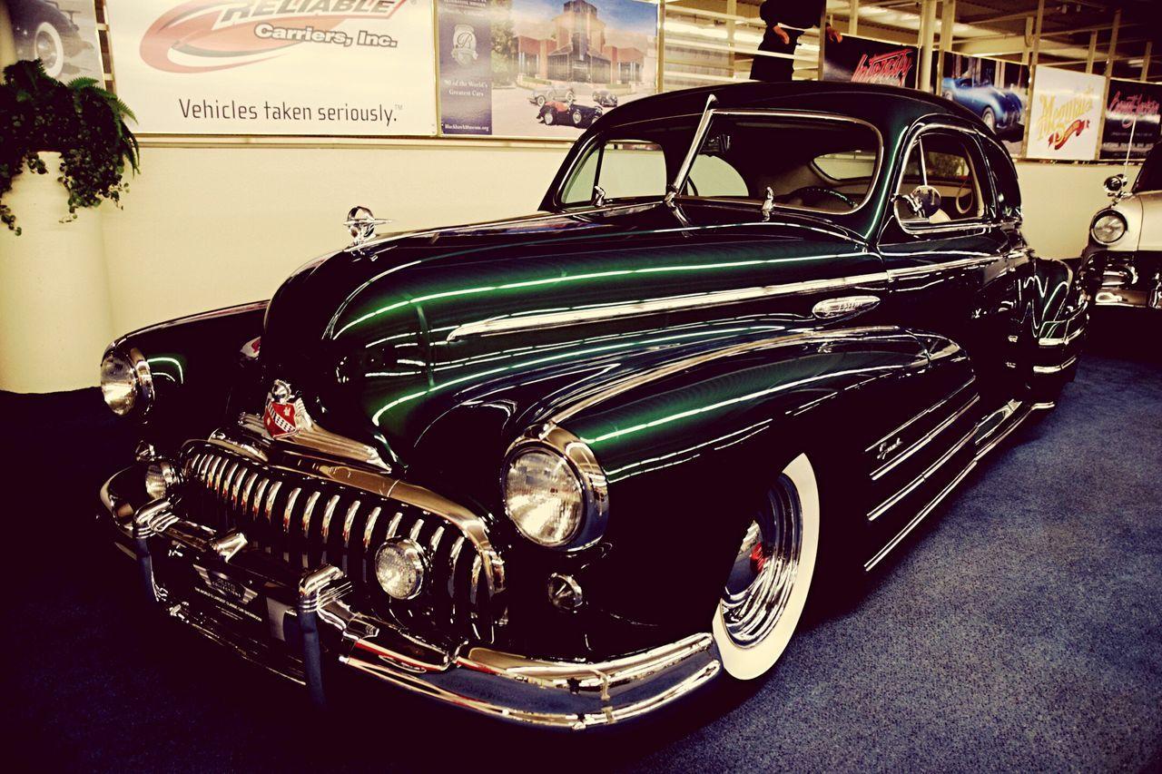 Vintage Cars Motors Auto Museum Cars