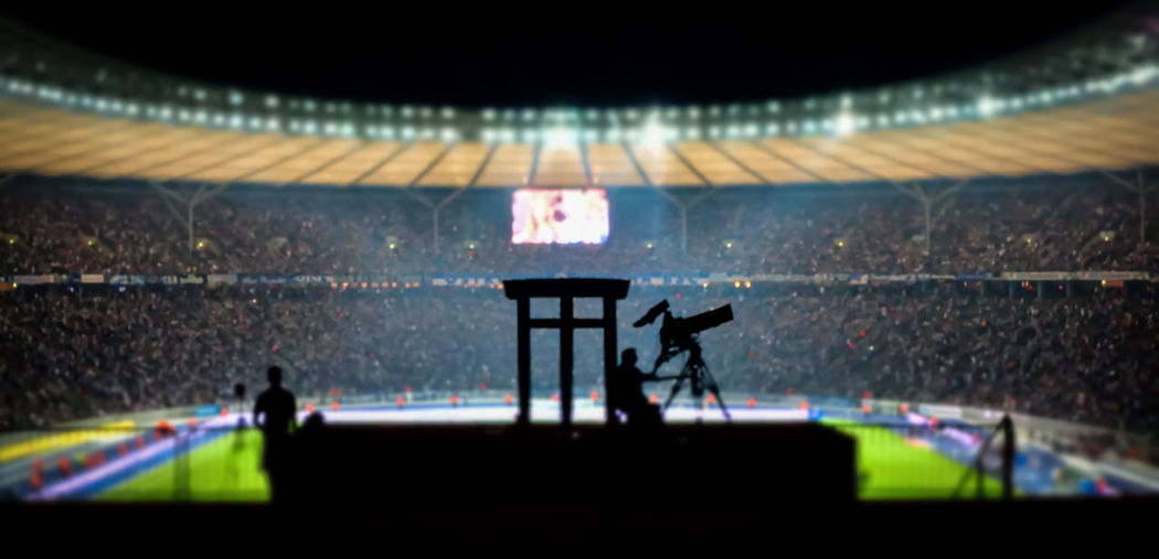 Arena Audience Camera Camera Man Close-up Electric Light Football Stadium Illuminated Nachtfotografie Night Night Lights Night Photography People Roof Sport Arena Sports Sports Photography Stadion Stadium Stadium Tilt-shift Urban Exploration Visitors