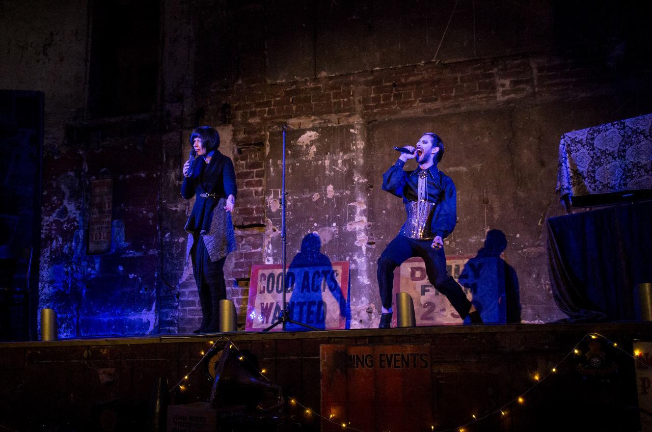 Final Variete of 2016 at the Panopticon. Burlesque Cabaret Corset Costume Duet Glasgow  Music People Performance Portrait Scotland So Song