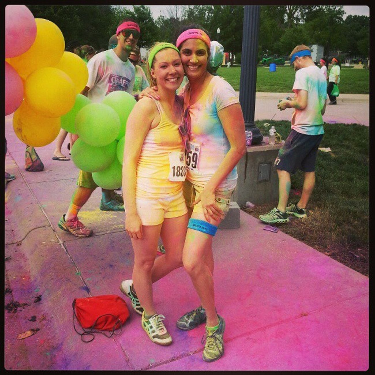 Graffiti run! Photobomb Lotsofcolor 5k