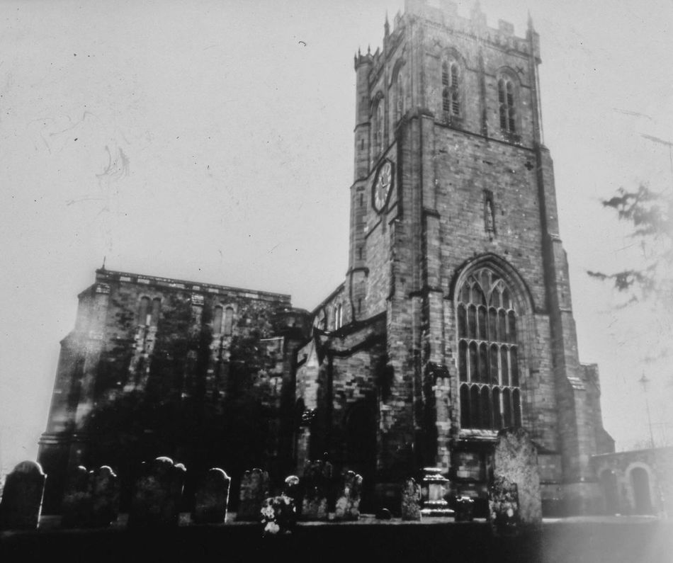 Paper Negative Pinhole Photography Film Photography Ilford Obscura Black & White Christchurch Priory