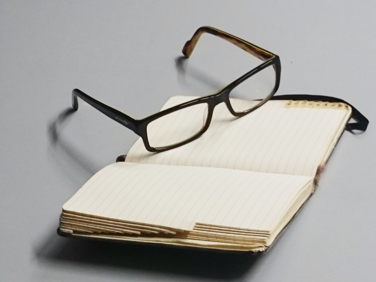 Beautiful stock photos of glasses, Absence, Glasses, Grey Background, No People