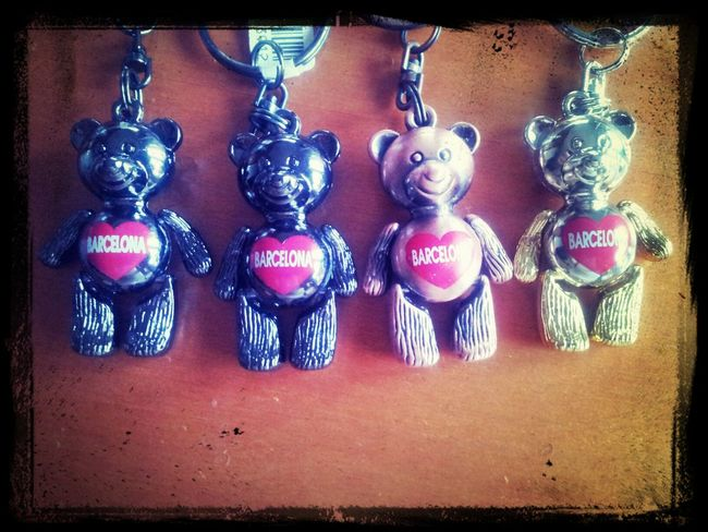 4 Teddy Bear Love Barcelona Smile Sweet♡